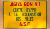 Jigiya Bon bedeutet in der Sprache der grössten Volksgruppe der Bambara, dem Bamanan Haus der Hoffnung.