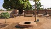 Einer der neuen Brunnen.