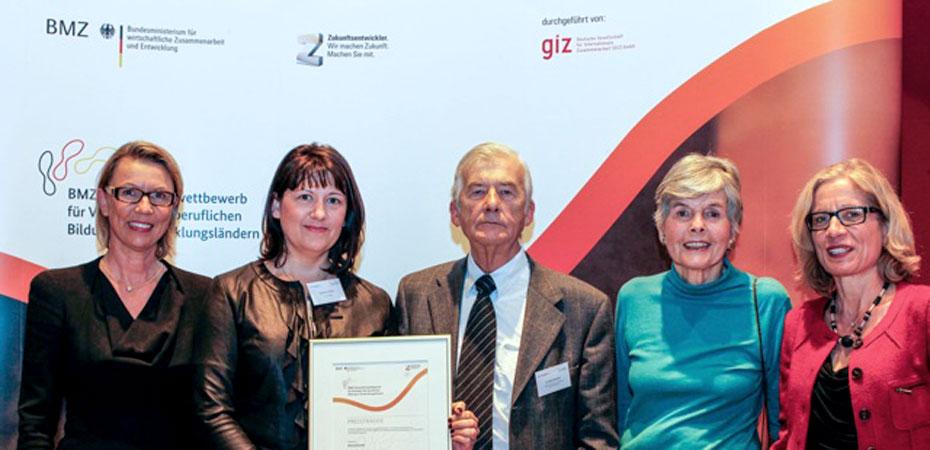 Preis des Bundesministeriums für wirtschaftliche Zusammenarbeit und Entwicklung für Siokoro-Projekt