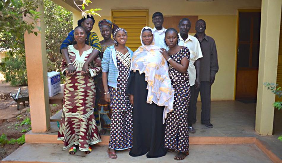 Das Team in Bamako.