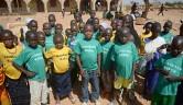 Schüler der Grundschule von Boro.