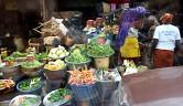 Viel Gemüse auf den Märkten der Dörfer.