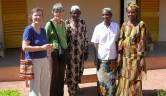 Ordentliche Handwerker wie Malermeister Coulibaly sind nicht leicht zu finden in Bamako.