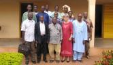 Die Lehrer der Privatschulen wurden ins Centre eingeladen, hier gemeinsam mit Vorstandsmitgliedern des malischen Trägervereins.