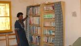 Die kleine Bibliothek im Centre.