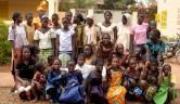 Die Vorsitzende des malischen Trägervereins, Frau Koné Virginie Moukoro, ist ein seltener und beliebter Gast im Centre.