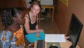 """Marie Kusche kam im Rahmen des vom BMZ (Bundesministerium für wirtschaftliche Zuammenarbeit und Entwicklung) initiierten """"Weltwärts""""-Programms für ein Jahr ins Centre."""