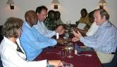 Ein Treffen mit Prof. Diallo, der Medizin und Pharmakologie an der Universität Bamako lehrt.