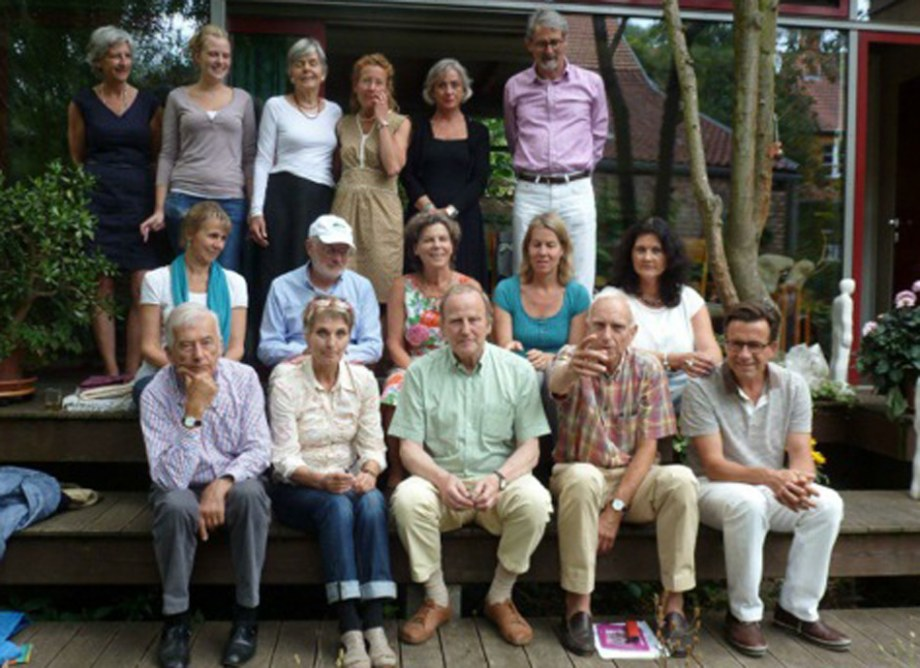 MitstreiterInnen beim Treffen am 27. Juni 2014 in Wiesloch.