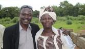 Das Team in Siokoro: Abdulaye Traroré und Virginie Moukouro