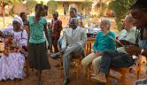 Ehemaligentreffen im Jigiya Bon in Bamako; Fotos: ©Milly Orthen //
