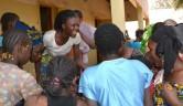 Mädchen im Zentrum Jigiya Bon in Bamako.
