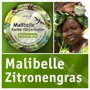 Jigiya Bon: Karité-Körperbutter in Duftnote Zitronengras