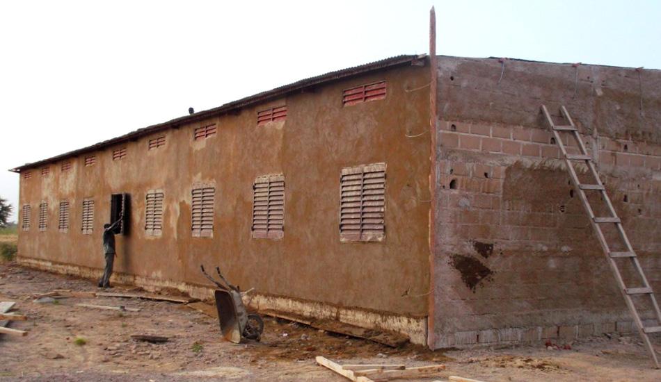 Baufortschritte in Barbé Plateau