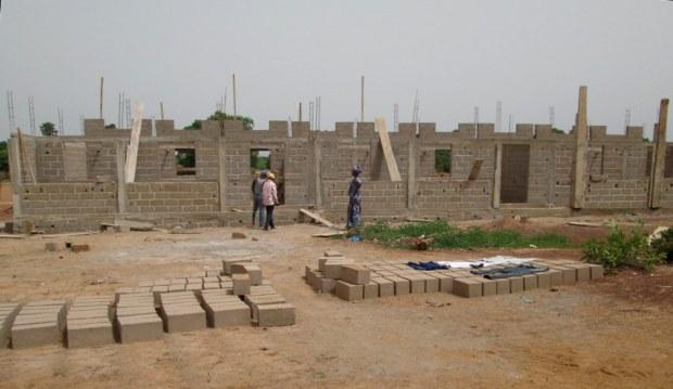 Baustelle in Neguéla