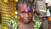 Auch Aminata hat eine Patenfamilie gefunden und kann nun zur Schule gehen.