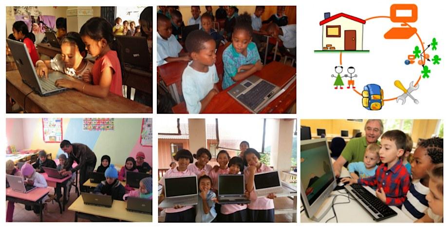 Über 325.000 Kinder und Flüchtlinge in 121 Ländern lernen bereits mit Labdoo-Laptops